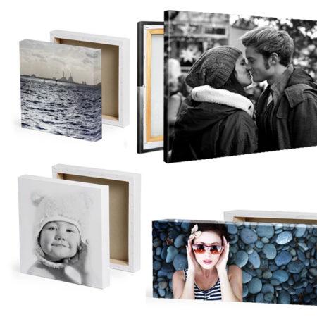 stampa foto su tela con telaio