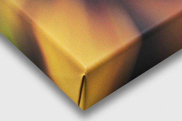 stampa su tela canvas con bordo telaio stampato