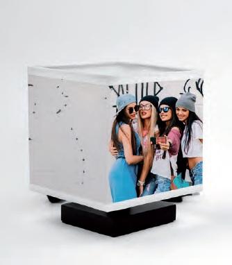 lampada personalizzata cubo
