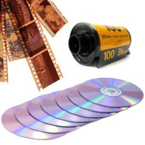 sviluppo scansione e digitalizzazione negativi