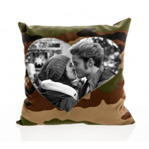cuscino mimenti cuore personalizzato con foto