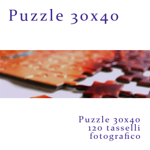 Foto Puzzle personalizzato 30x40