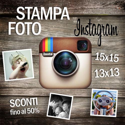 stampa foto instagram formato standard
