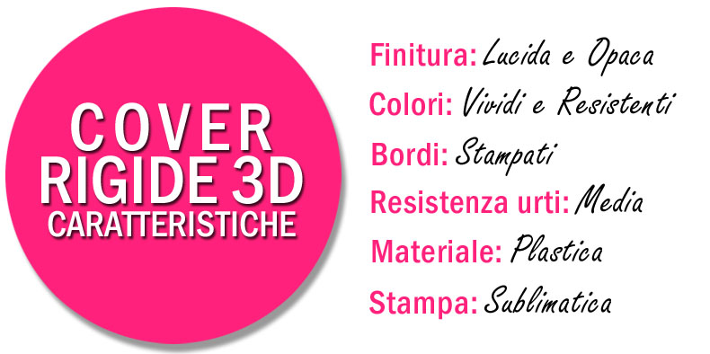 Cover rigide personalizzate: caratteristiche