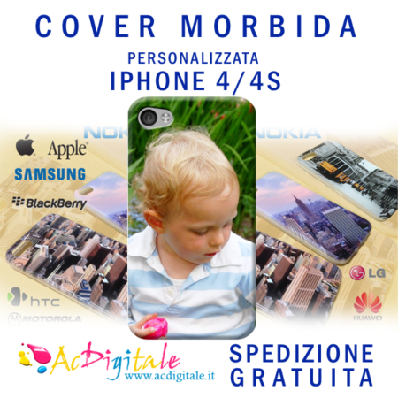 cover personalizzata iphone 4