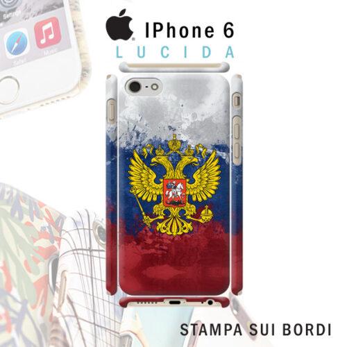cover personalizzata iPhone rigida lucida con stampa sui bordi