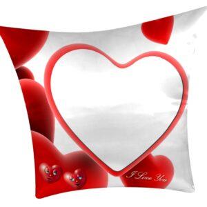 cuscino personalizzato con cuore fantasy