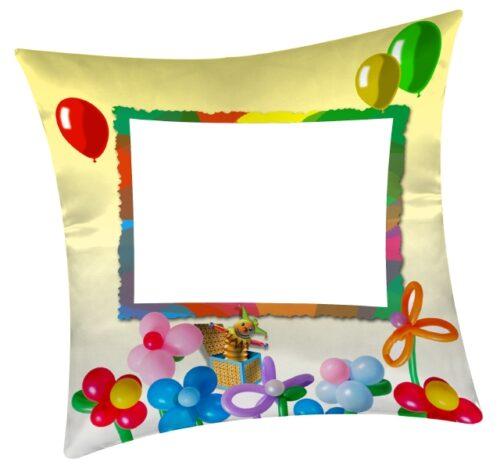 cuscino fantasy personalizzato con foto