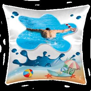 cuscino personalizzato tema mare splash