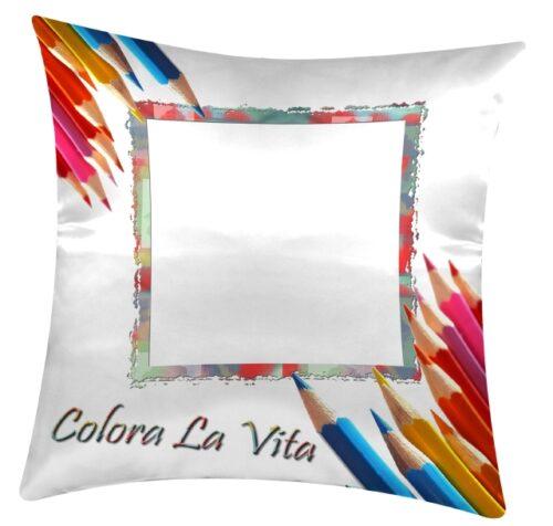 cuscino personalizzato con grafica per bambini