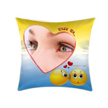 cuscino personalizzato kiss me