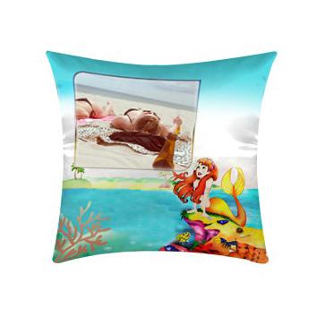Cuscino personalizzato con grafica Sirena