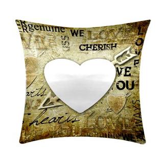 cuscino personalizzato I love you