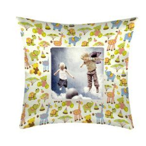Cuscino con fantasia bambini personalizzato
