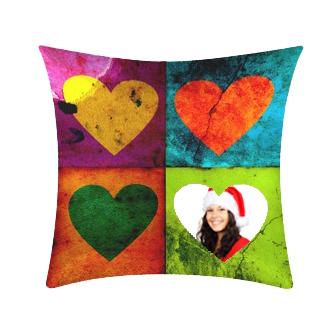 cuscino fantasy a tema amore personalizzato