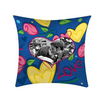 cuscino personalizzato con fantasia love con le tue foto
