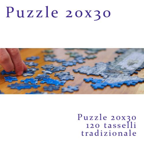 Puzzle Fotografico personalizzato 20x30