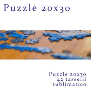Puzzle Fotografico personalizzato , 42 pezzi 20x30