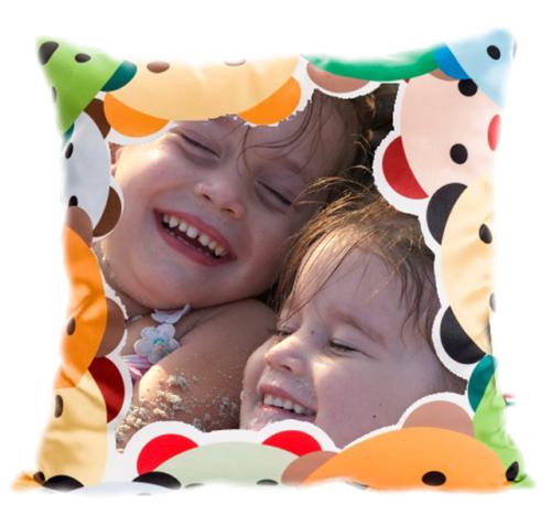 cuscino personalizzato a tema fantasy per bambini
