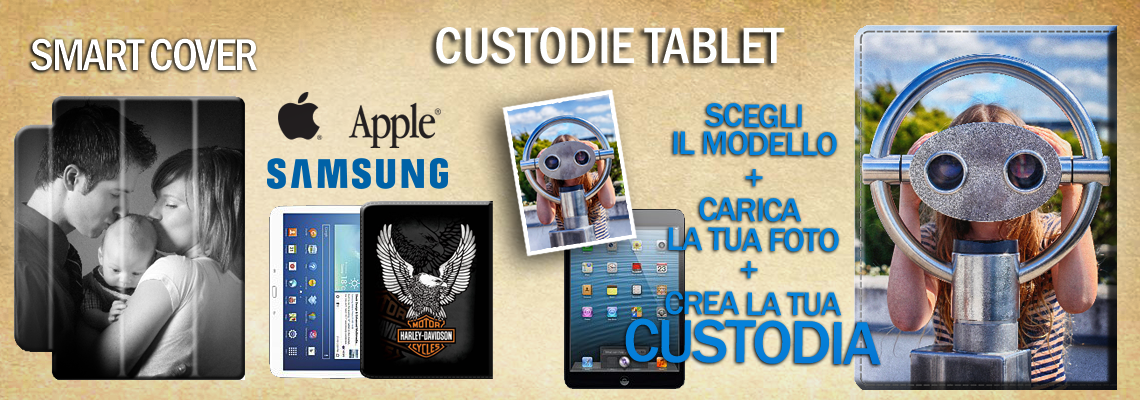 CUSTODIE E SMART COVER PER TABLET