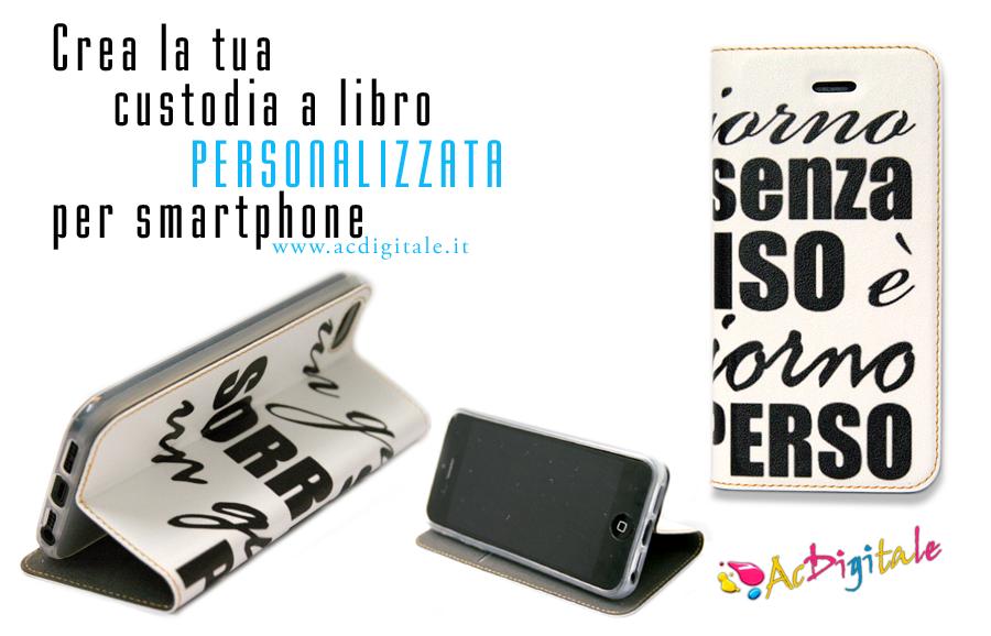 custodie a libro iphone personalizzate