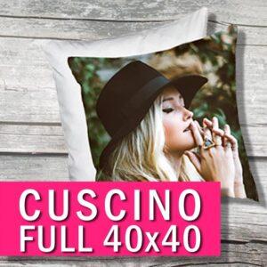 cuscino personalizzato con foto disponibile in vari formati