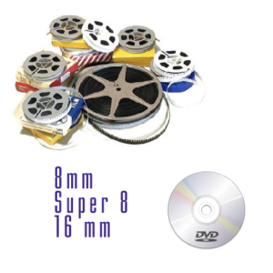 Riversamento da bobine 8mm a dvd video