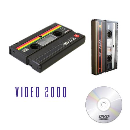 Riversamento da Video 2000 a dvd video