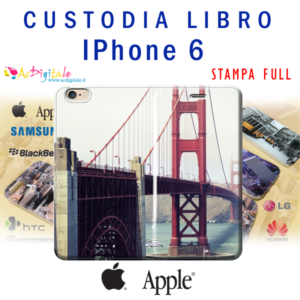 crea e acquista online una custodia a libro personalizza per iphone 6
