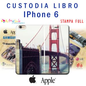 crea e acquista online una custodia a libro personalizza per iphone 6
