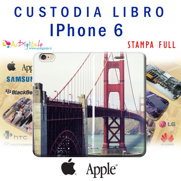 Cover e custodie a libro per IPhone 5/5s personalizzate  AcDigitale