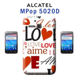 cover personalizzata One Touch MPop 5020D