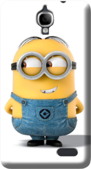 Cover One Touch Idol 6030D Minions personalizzata