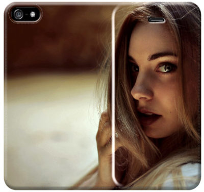 cover e custodia a libro personalizzata per iPhone 5/5s