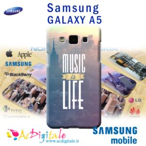 cover personalizzata galaxy A5