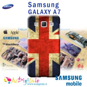 cover personalizzata per galaxy A7