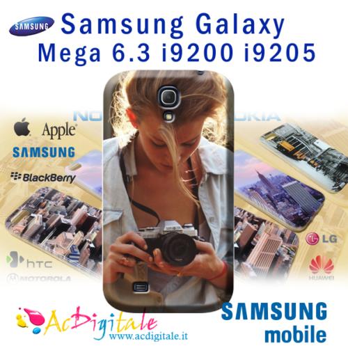 cover personalizzata galaxy Mega 6