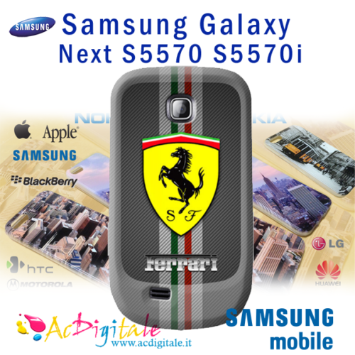 Cover   personalizzata Galaxy Next S5570 S5570i