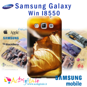 cover personalizzata galaxy Win I8550