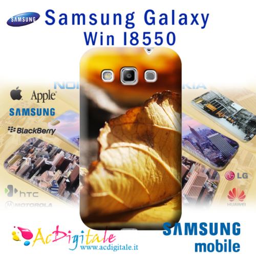 cover personalizzata galaxy Win I8550