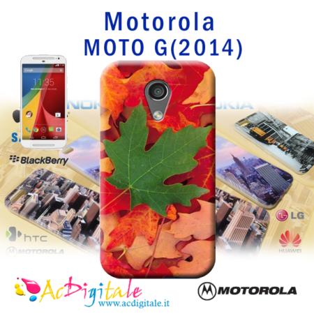 cover personaizzata morbida moto g 2014