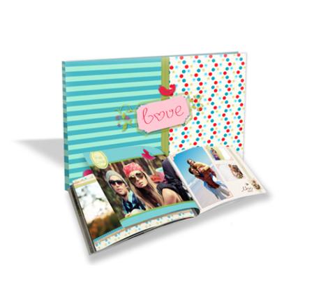 fotolibro personalizzato con foto a tema Love