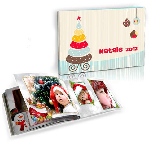 fotolibro a tema natalizio personalizzato