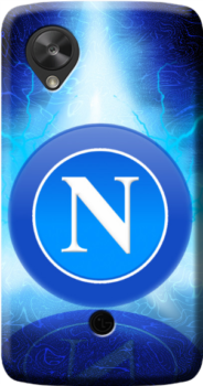 cover personalizzata logo Napoli
