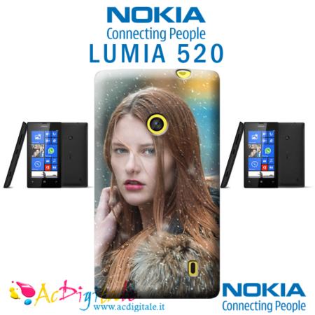 Cover personalizzata nokia lumia 520