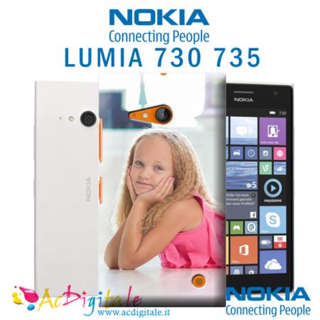 cover personalizzata lumia 730 735