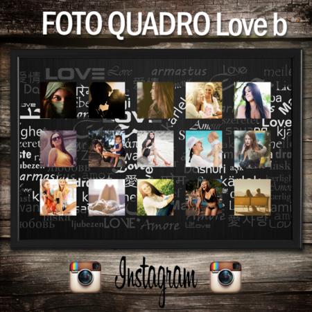 fotoquadro personalizzato con foto di instagram