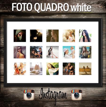 poster personalizzato con 15 foto di instagram