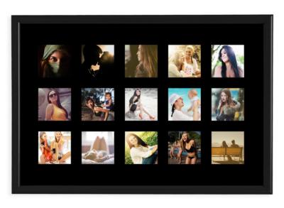 regala un foto quadro personalizzato con le tue foto di instagram