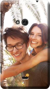 cover con foto coppia Nokia
